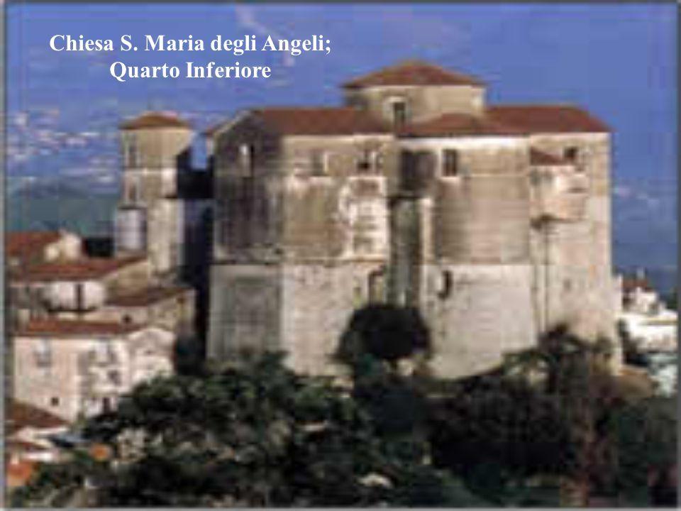Chiesa S. Maria degli Angeli; Quarto Inferiore