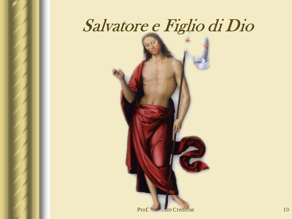 Salvatore e Figlio di Dio