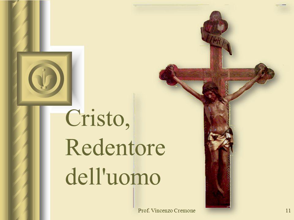 Cristo, Redentore dell uomo