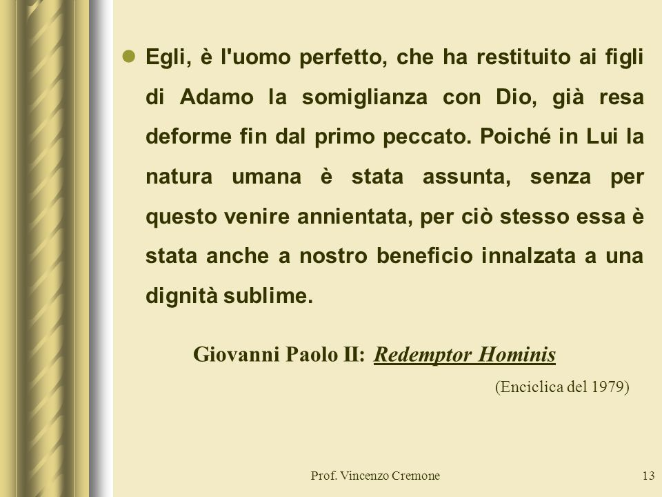 Giovanni Paolo II: Redemptor Hominis