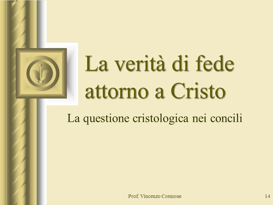 La verità di fede attorno a Cristo