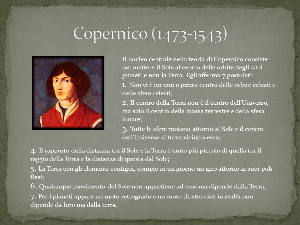 Copernico (1473-1543)
