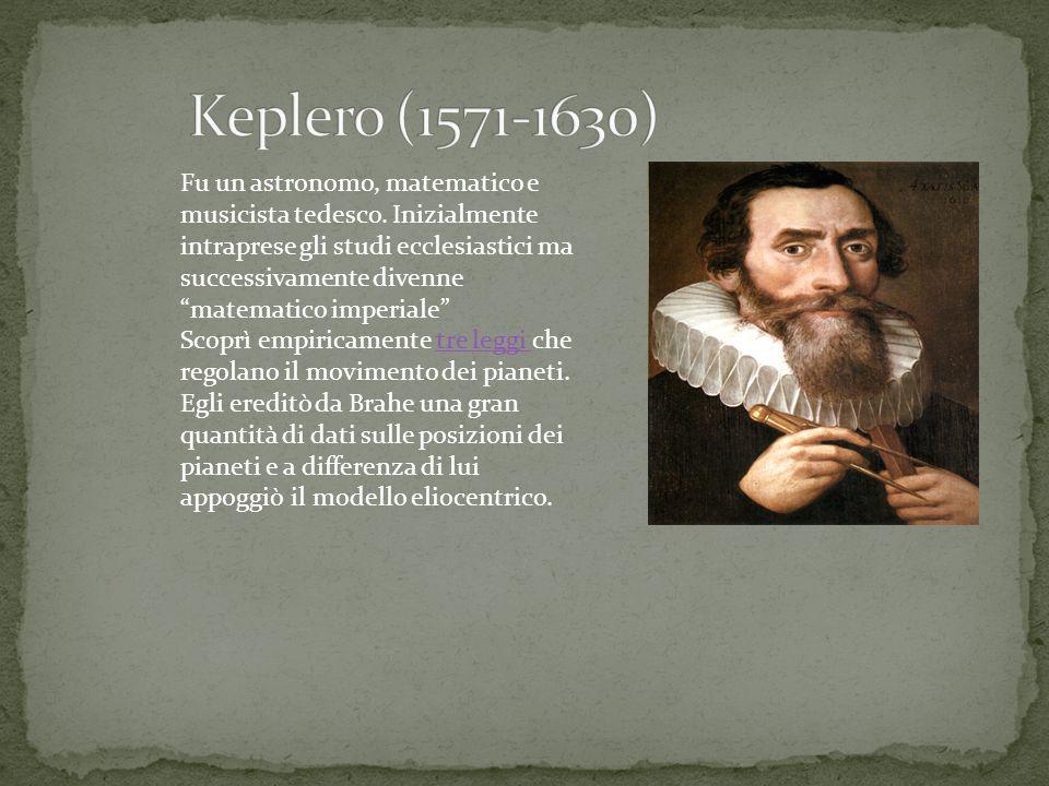 Keplero (1571-1630)