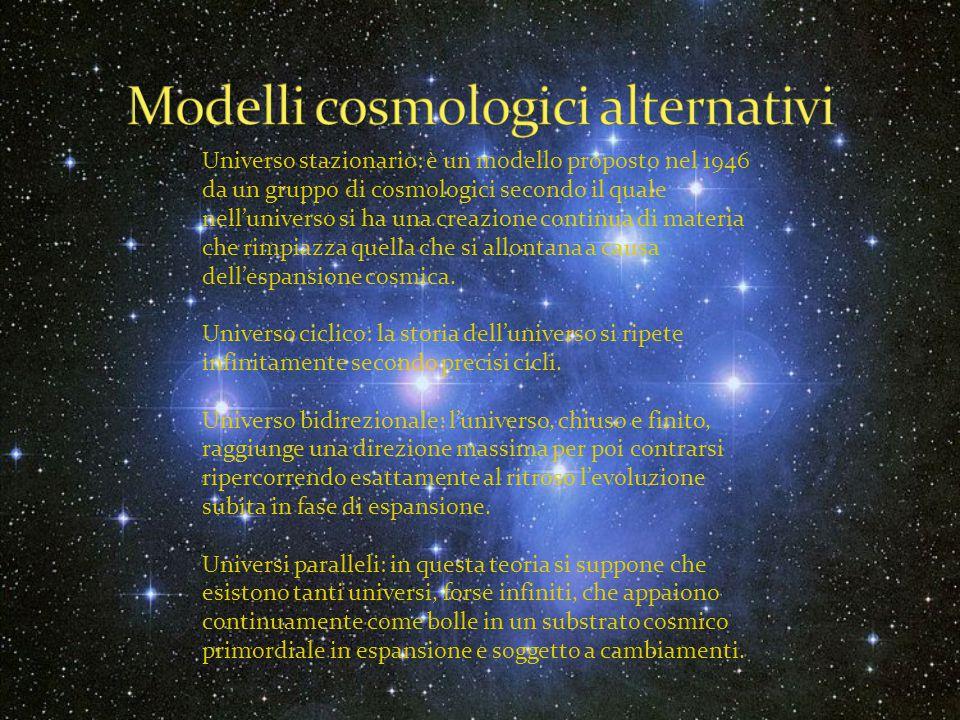 Modelli cosmologici alternativi