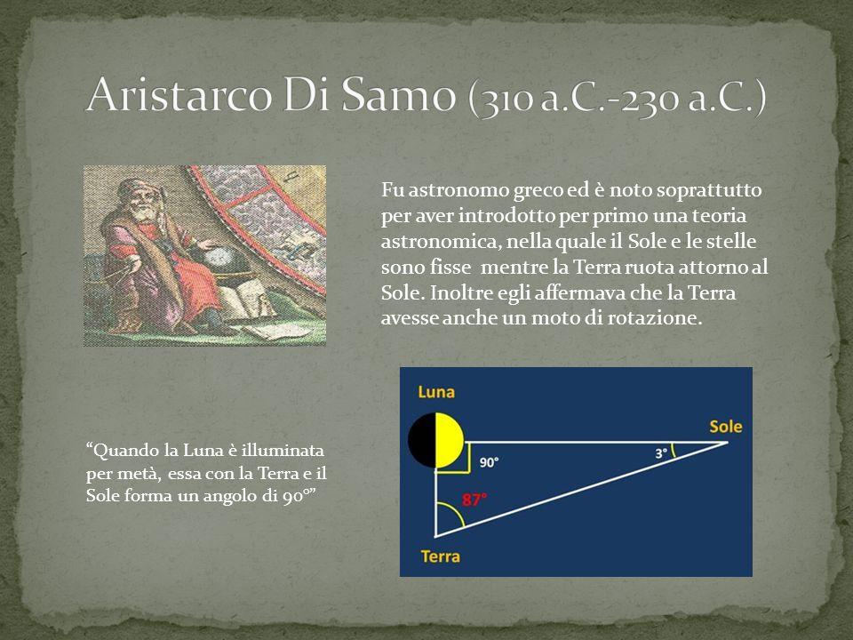 Aristarco Di Samo (310 a.C.-230 a.C.)