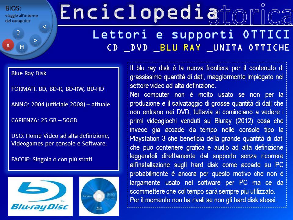 Lettori e supporti OTTICI CD _DVD _BLU RAY _UNITA OTTICHE