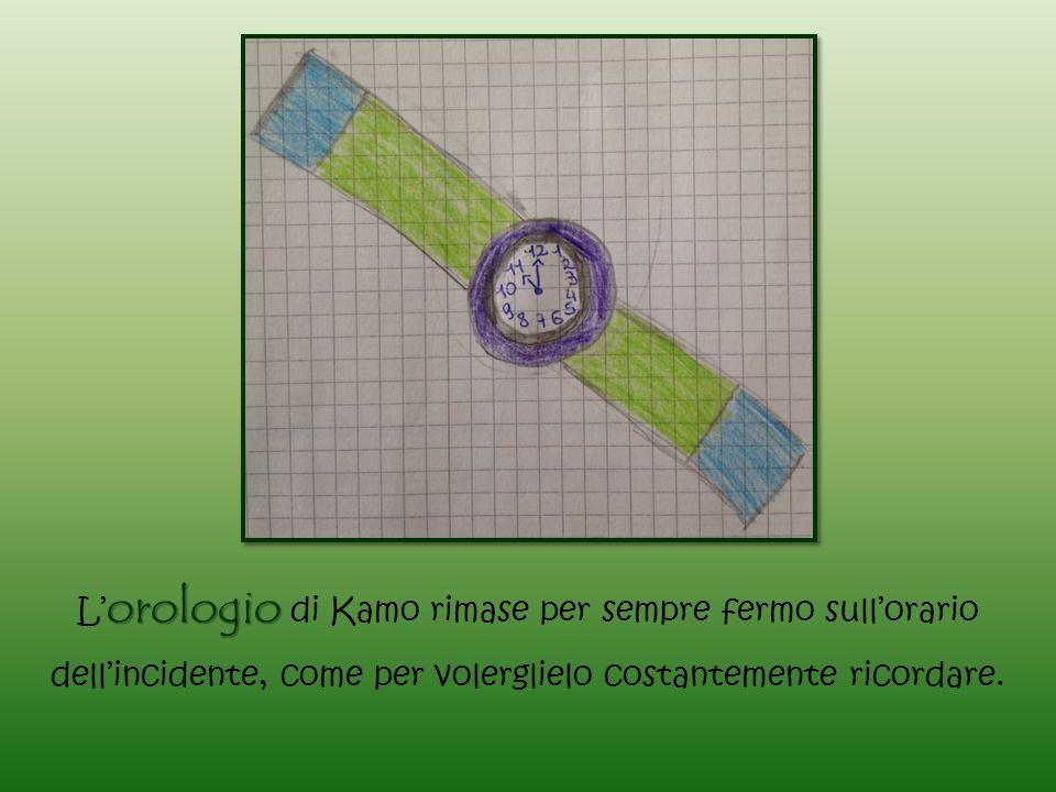 L'orologio di Kamo rimase per sempre fermo sull'orario dell'incidente, come per volerglielo costantemente ricordare.