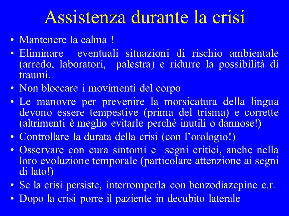 Assistenza durante la crisi