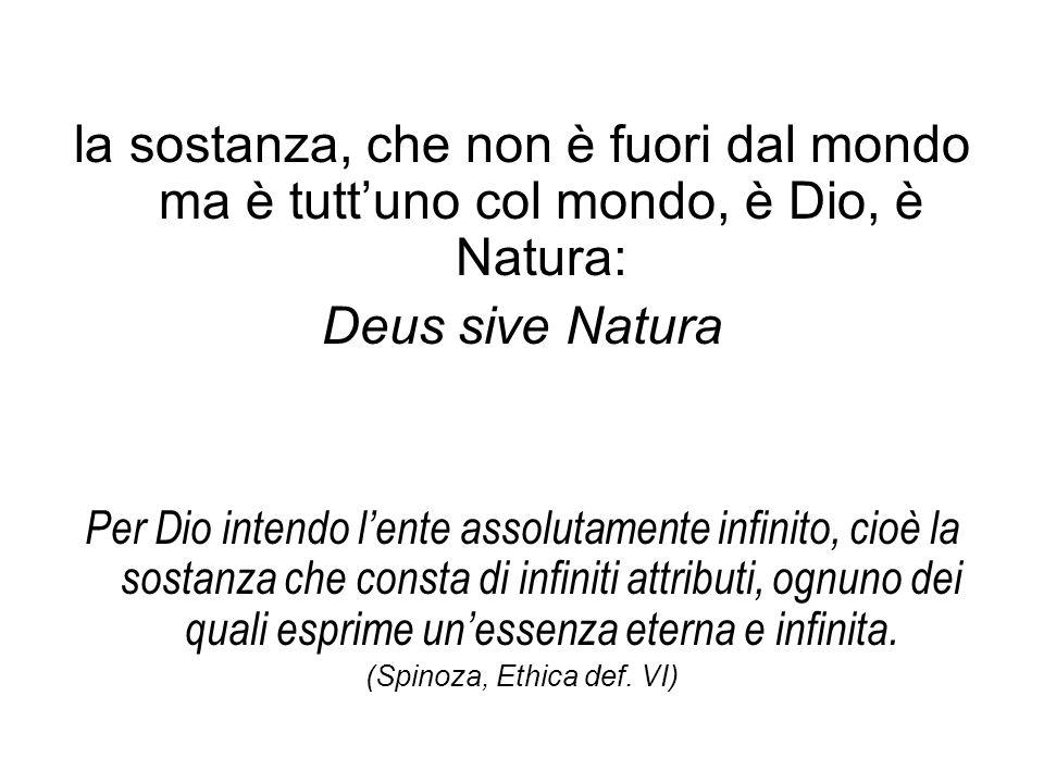 (Spinoza, Ethica def. VI)