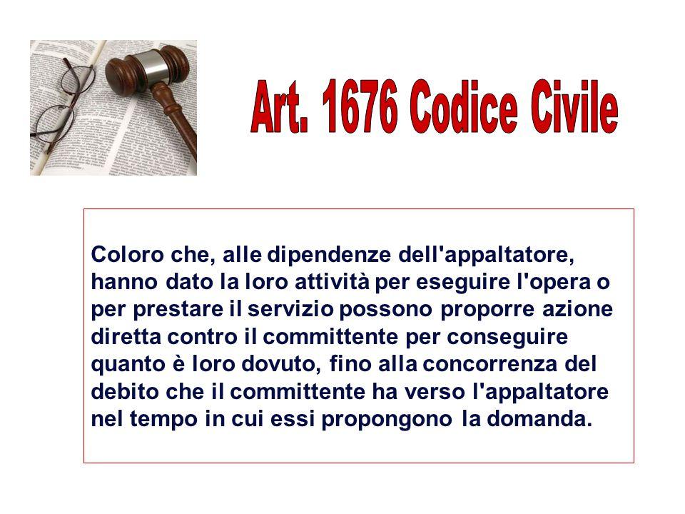 Art. 1676 Codice Civile