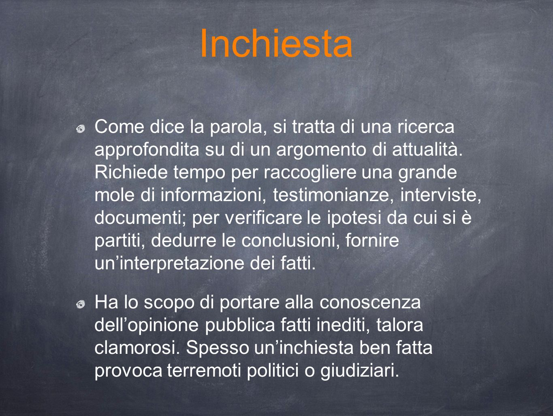 Inchiesta