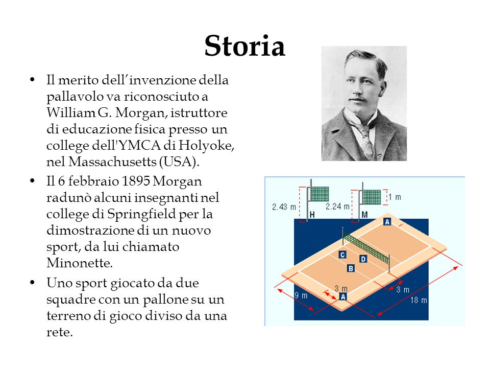 La pallavolo ppt video online scaricare for 2 case di storia
