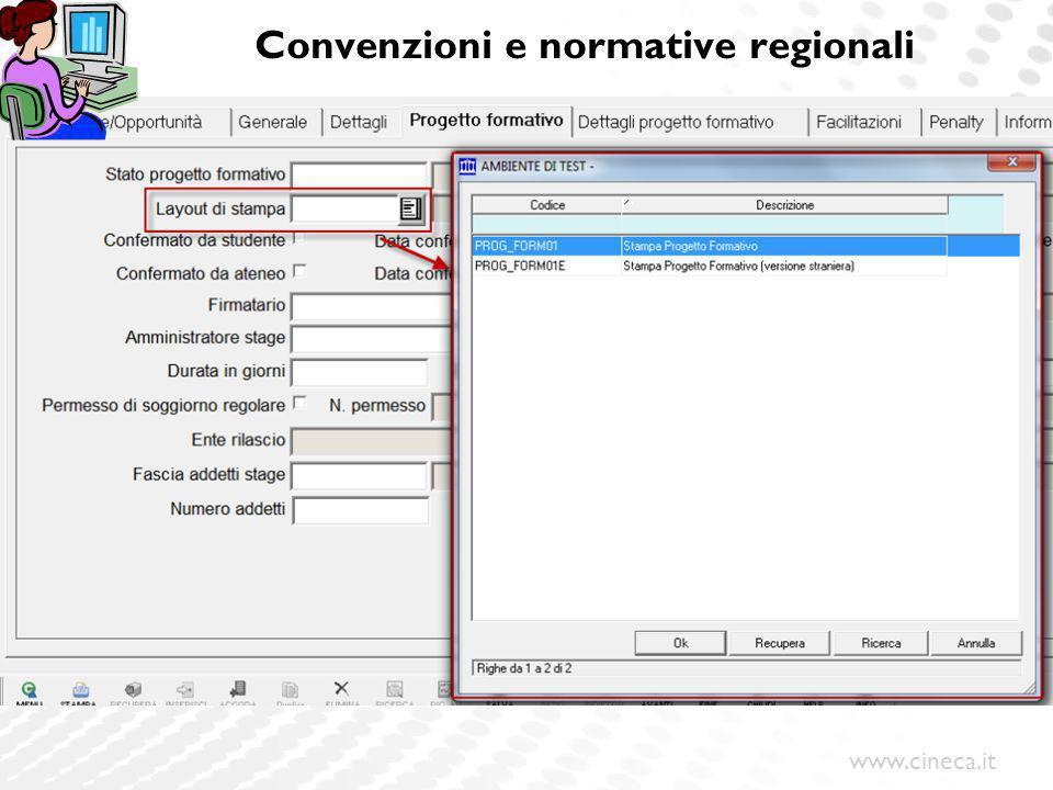 Convenzioni e normative regionali