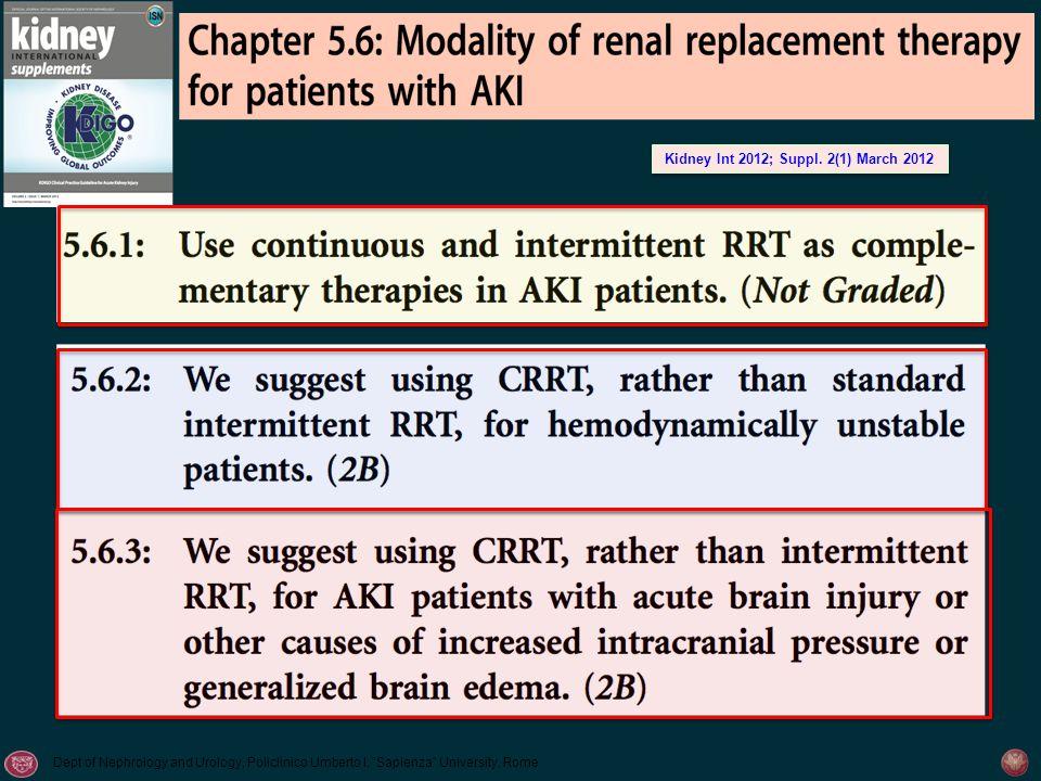 Kidney Int 2012; Suppl. 2(1) March 2012