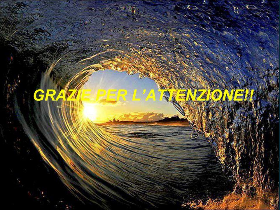 GRAZIE PER L'ATTENZIONE!!