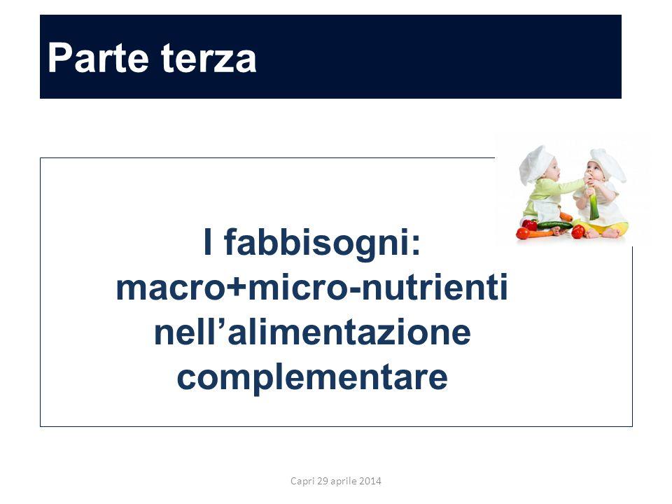 macro+micro-nutrienti nell'alimentazione complementare