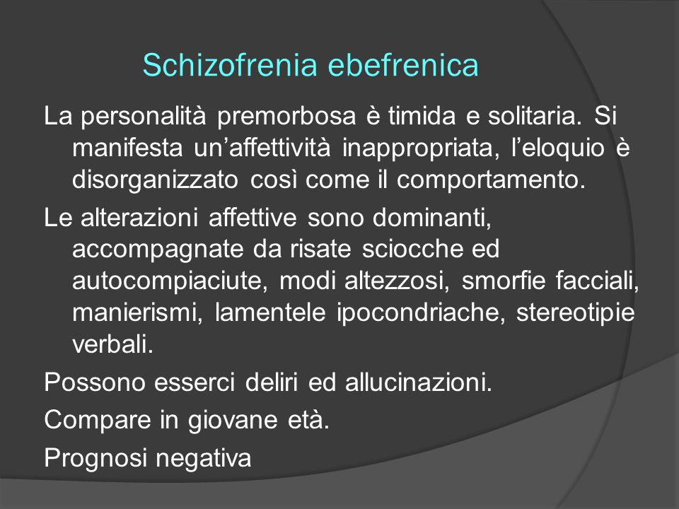 Schizofrenia ebefrenica