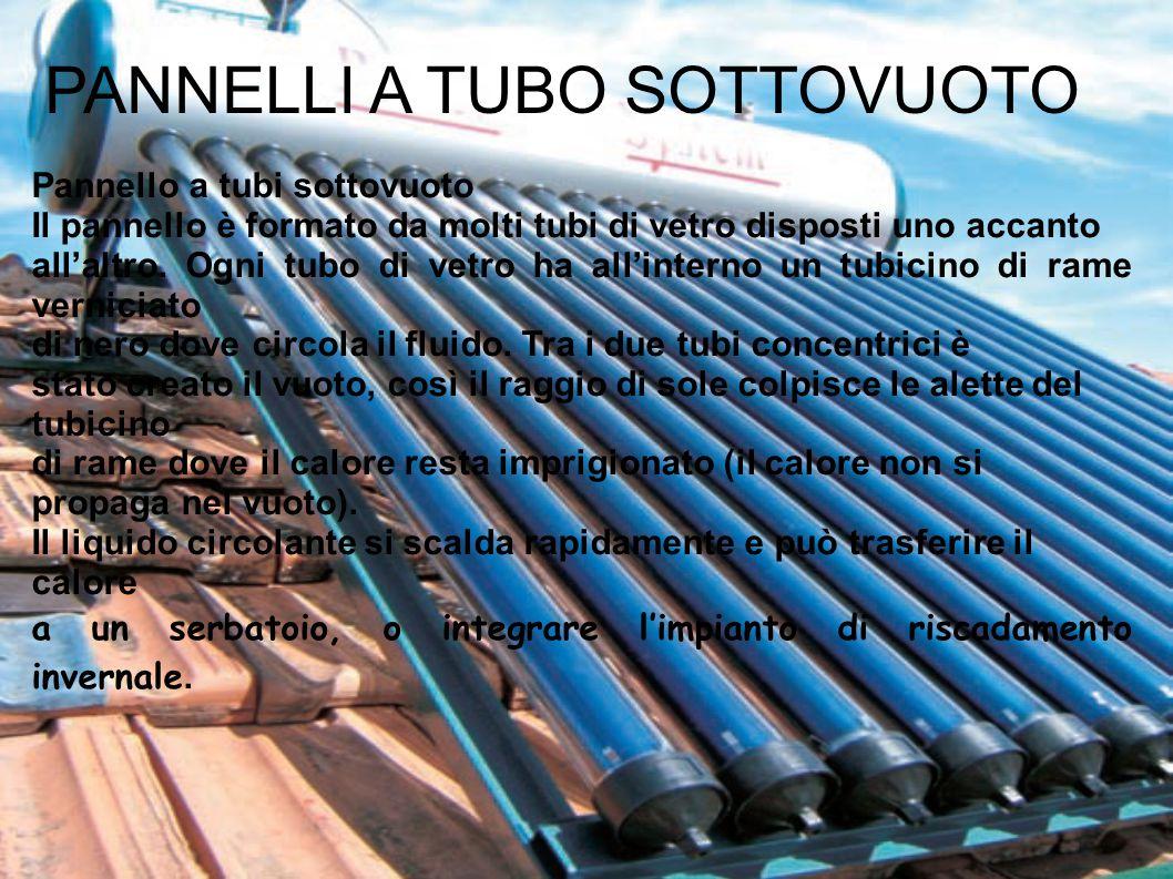 Pannello Solare Con Tubo Polietilene : Energia solare la luce del sole è una radiazione