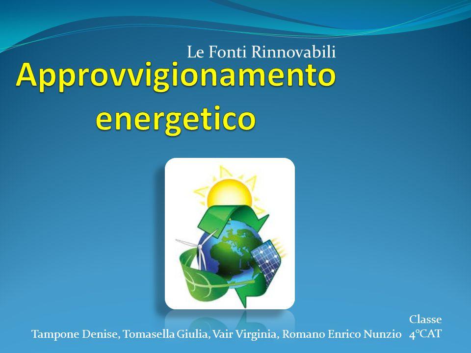 Approvvigionamento energetico