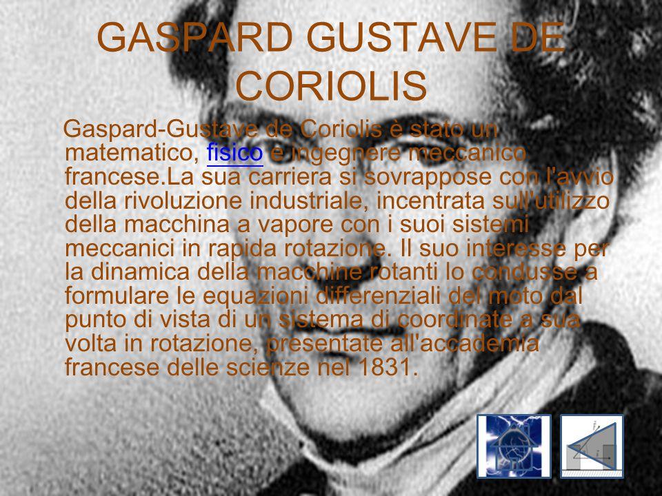 GASPARD GUSTAVE DE CORIOLIS