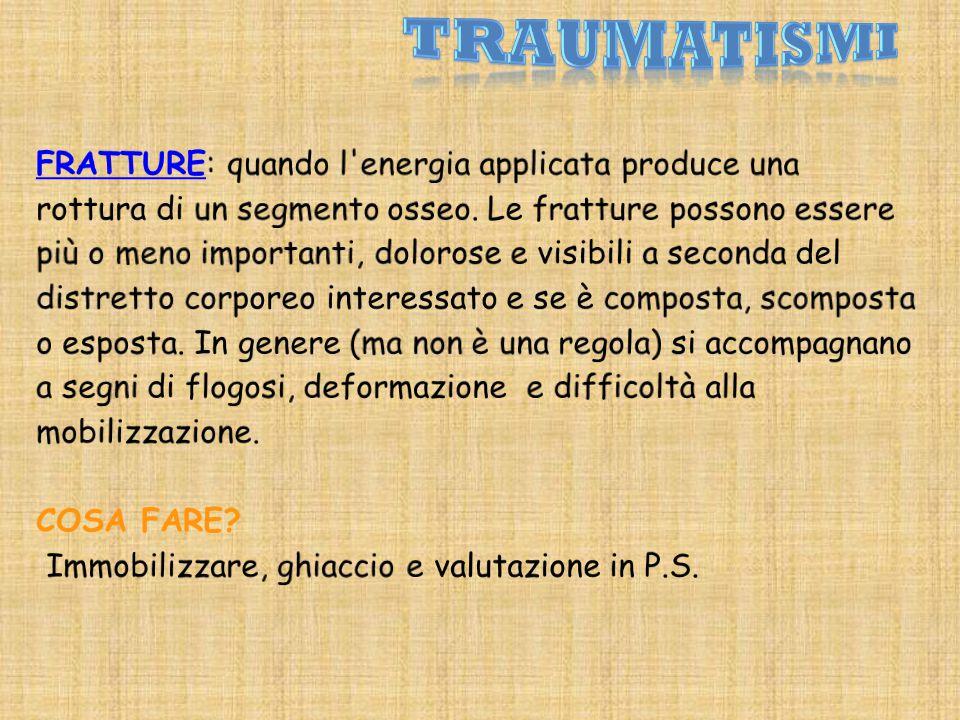 TRAUMATISMI
