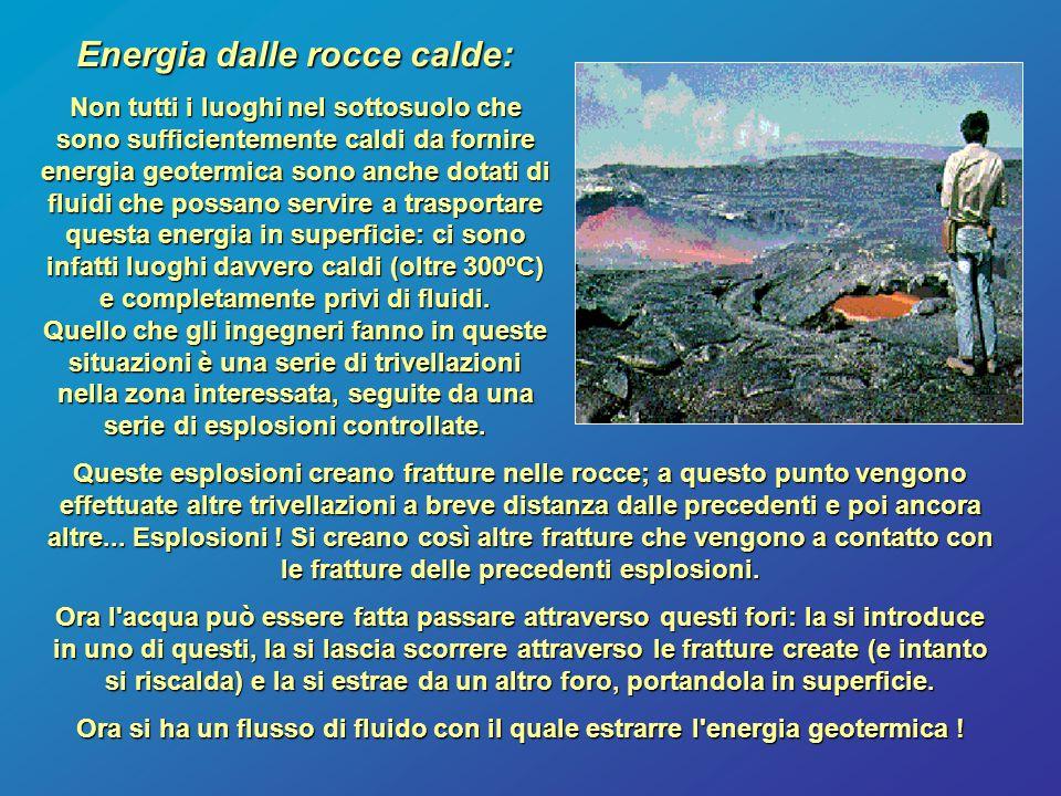 Energia dalle rocce calde: