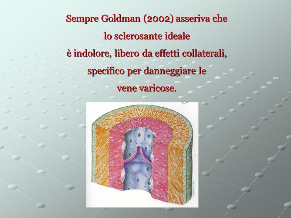 Sempre Goldman (2002) asseriva che lo sclerosante ideale