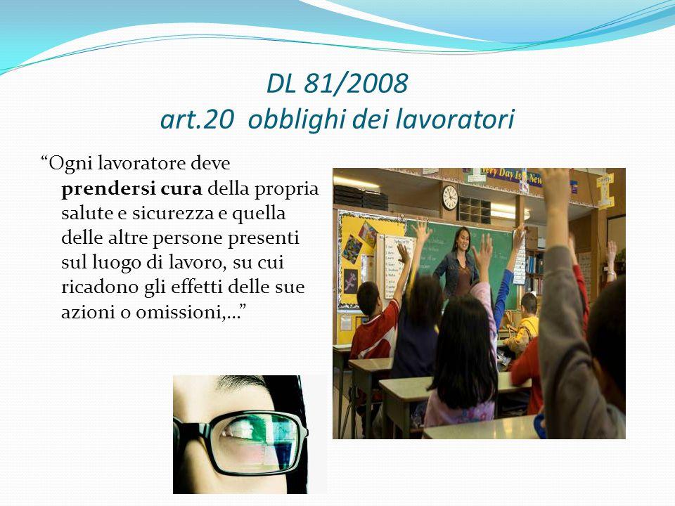 DL 81/2008 art.20 obblighi dei lavoratori
