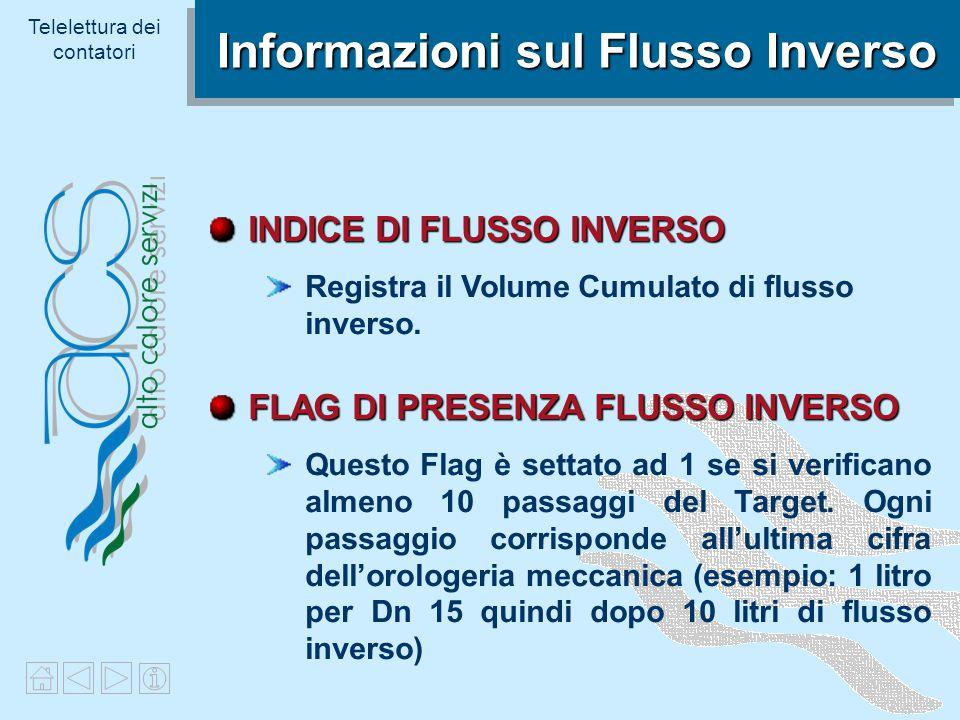 Informazioni sul Flusso Inverso