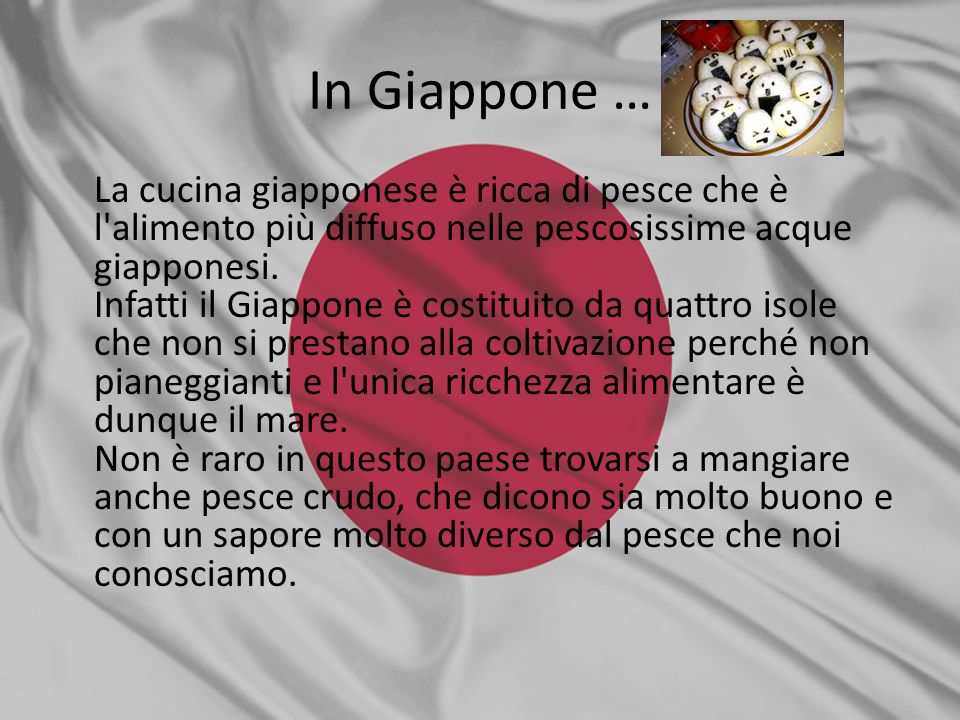 In Giappone …