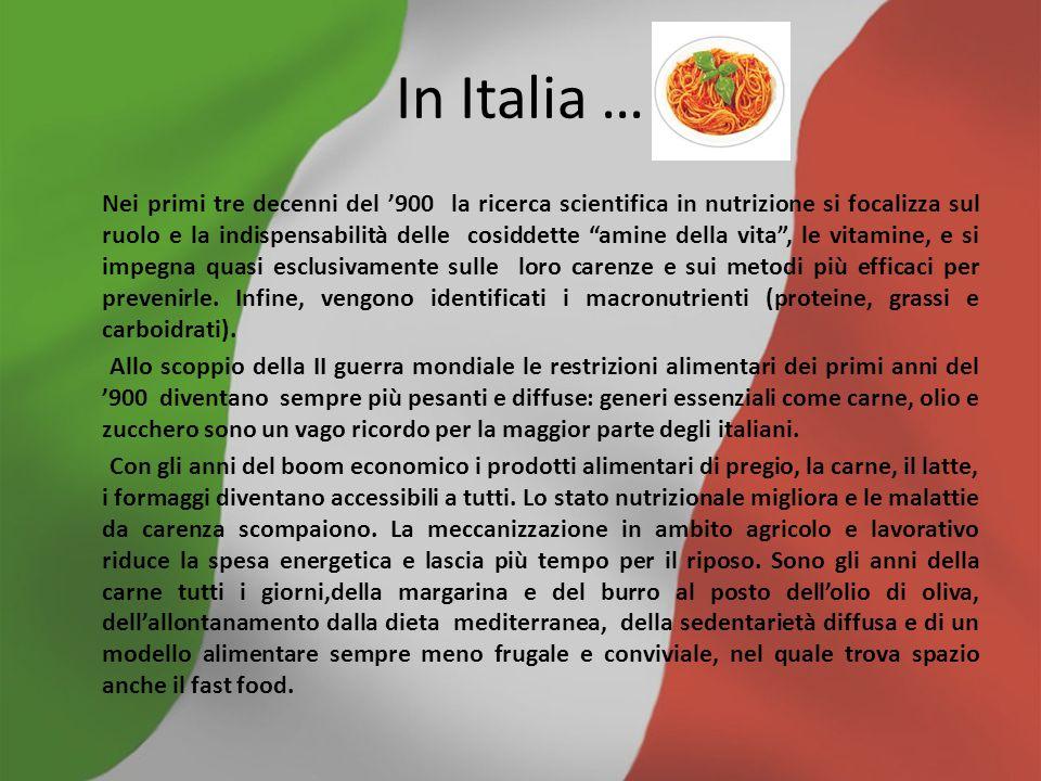 In Italia …