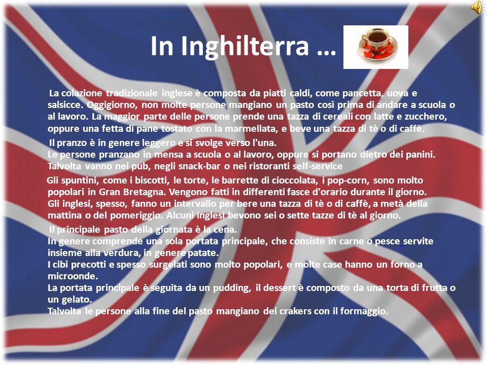 In Inghilterra …