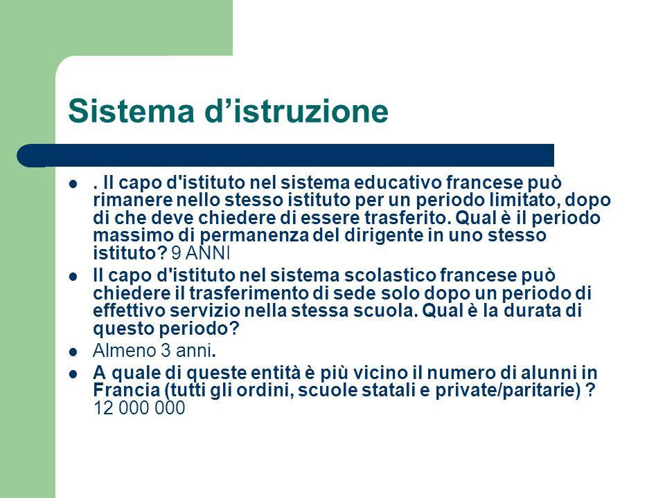 Sistema d'istruzione