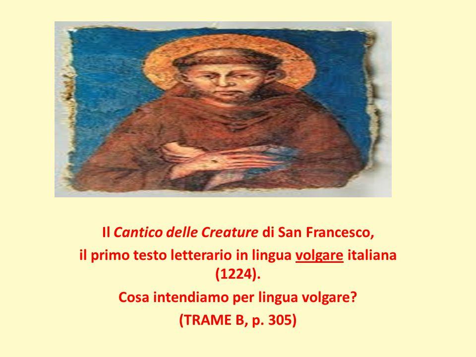 Il Cantico delle Creature di San Francesco,