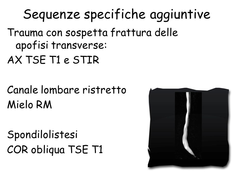 Sequenze specifiche aggiuntive