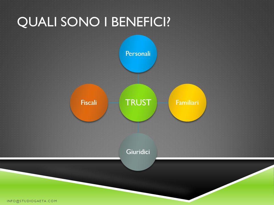 Quali sono i benefici INFO@STUDIOGAETA.COM TRUST Personali Familiari