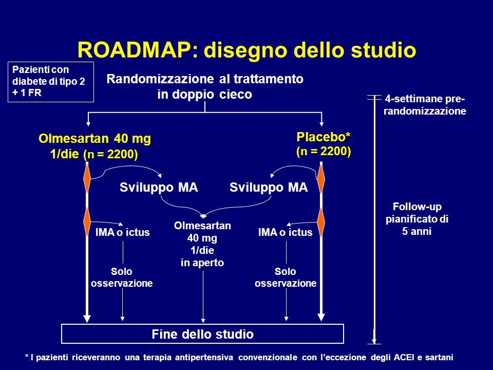 ROADMAP: disegno dello studio