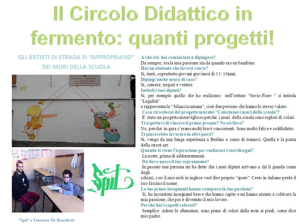 Il Circolo Didattico in fermento: quanti progetti!