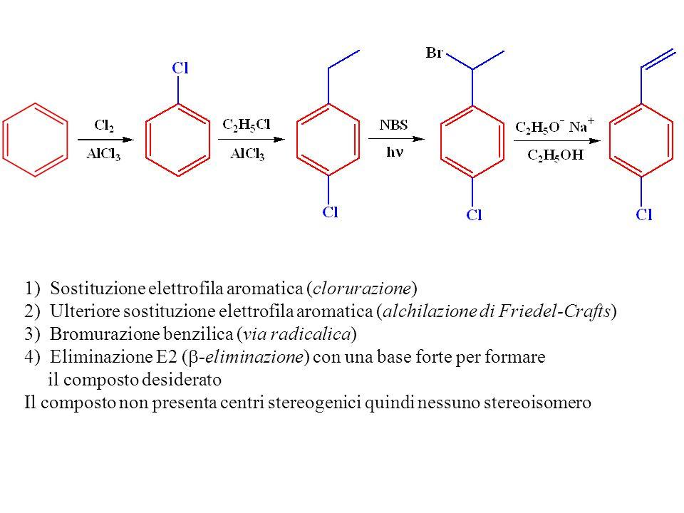 Sostituzione elettrofila aromatica (clorurazione)