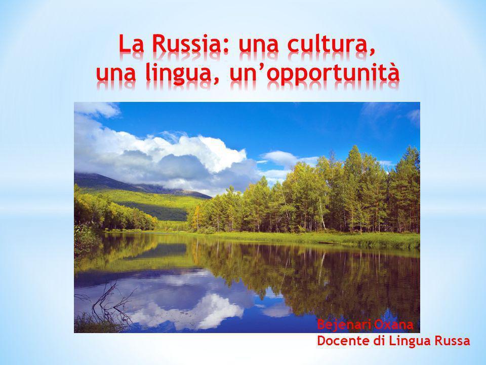 La Russia: una cultura, una lingua, un'opportunità