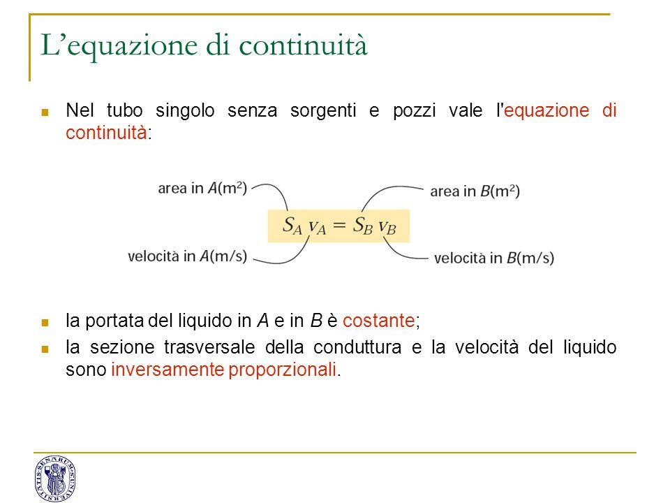 L'equazione di continuità