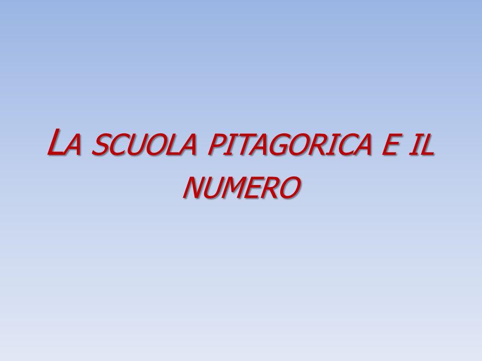 La scuola pitagorica e il numero