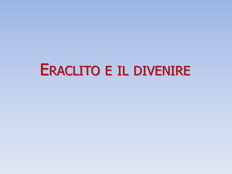 Eraclito e il divenire