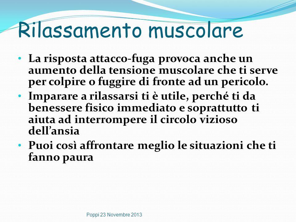 Rilassamento muscolare