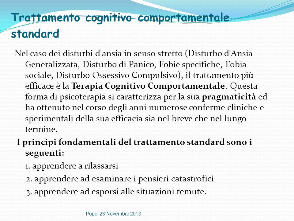 Trattamento cognitivo comportamentale standard