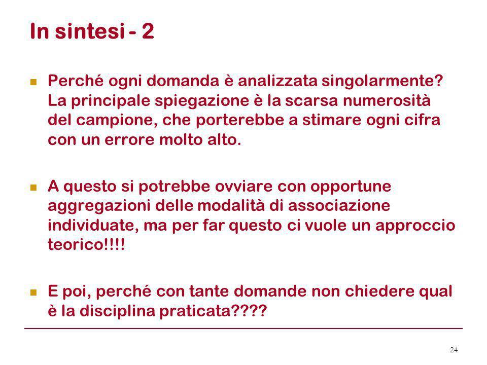 In sintesi - 2