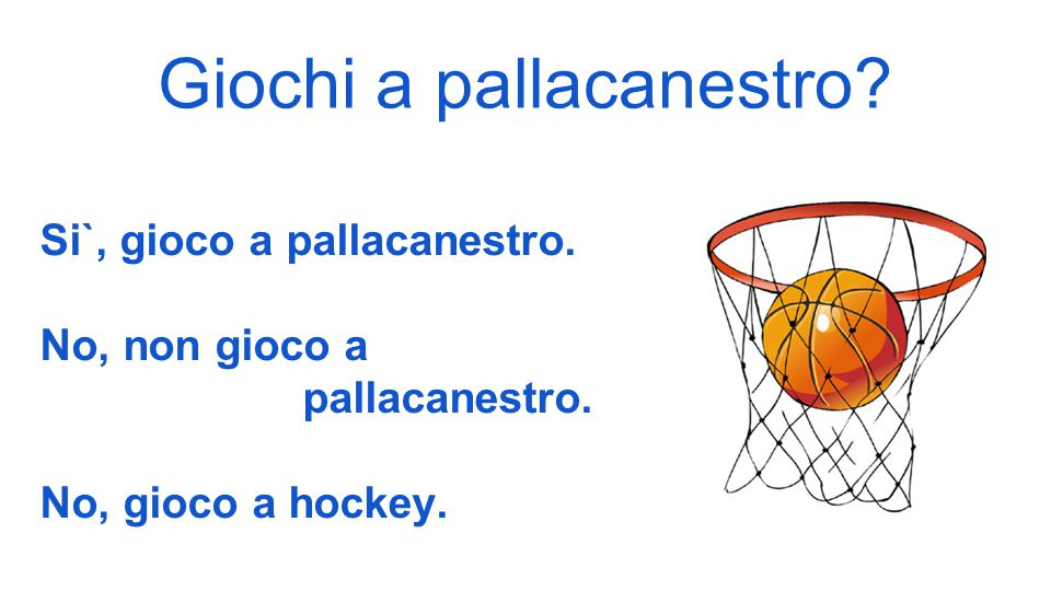 Giochi a pallacanestro