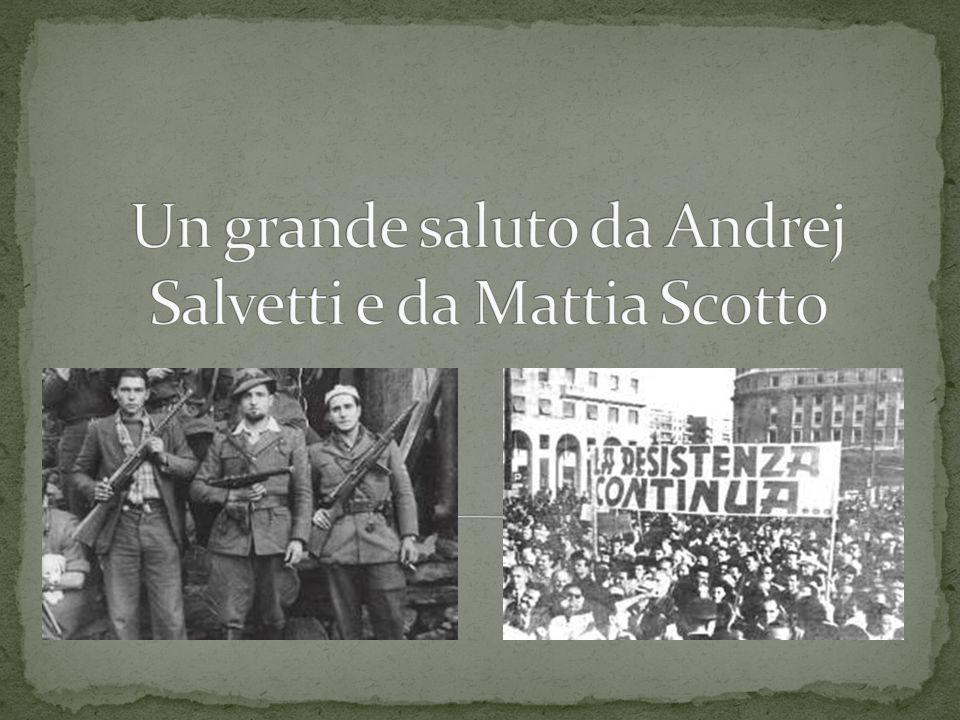 Un grande saluto da Andrej Salvetti e da Mattia Scotto