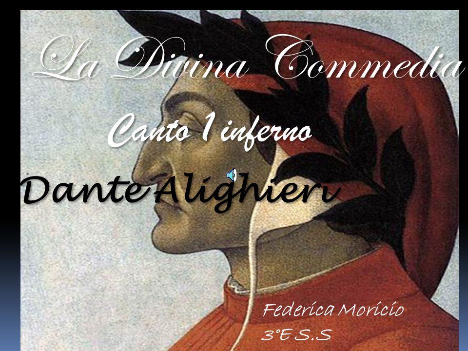 La Divina Commedia Canto 1 inferno Dante Alighieri