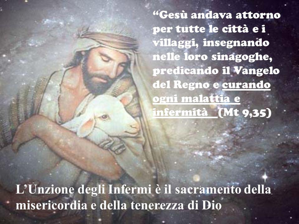 Gesù andava attorno per tutte le città e i villaggi, insegnando nelle loro sinagoghe, predicando il Vangelo del Regno e curando ogni malattia e infermità (Mt 9,35)